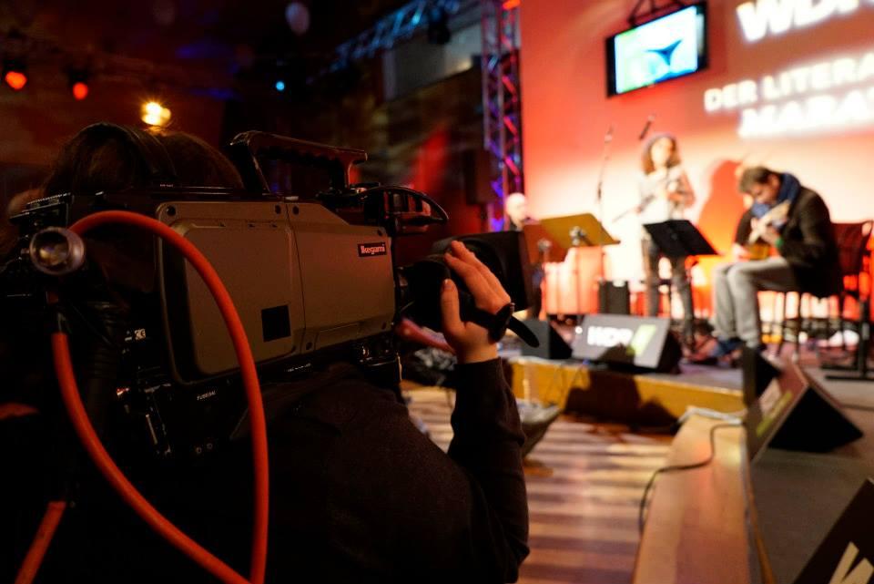 WDR Literaturmarathon 2015 Christa Becker 2